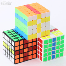 Micube 5x5x5 MF5 MofangJiaoshi Cube Speed Puzzle 64mm Cubes Toys For Children Kids cubo WCA Championship Stickerless