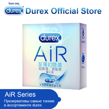 Durex AiR Condoms Ultra Thin Super Sensitivity Condom Smooth Penis Sleeve Addicted Intimate Goods Sex Toys for Ejaculation Delay(China)