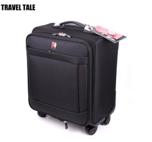 TRAVEL TALE 18 inch Swissgear spinner trolley bags men cabin luggage valise enfant bagages roulettes