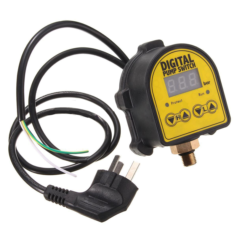 Digital Display Eletronic Pressure Controller Switch Air Pump for Water Pump Compressor Switch Water Pressure Switch Mayitr