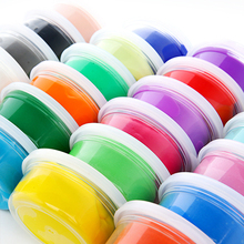 1PC Color Random Non-toxic Environmental Protection Bouncing Silly Putty Handgum Toy with Box Magnet Plasticine V5855