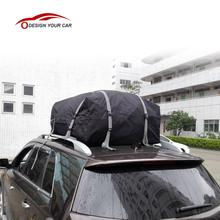 Overseas STOCK Waterproof Roof Top Cargo Bag Expandable Luggage Travel Bag Carrier for Any Car SUV Van with Roof Rack