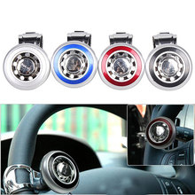 Car Steering Wheel Knob Ball Hand Control Power Handle Grip Spinner Silver Strengthener High Quality Auto Spinner Knob Ball(China)
