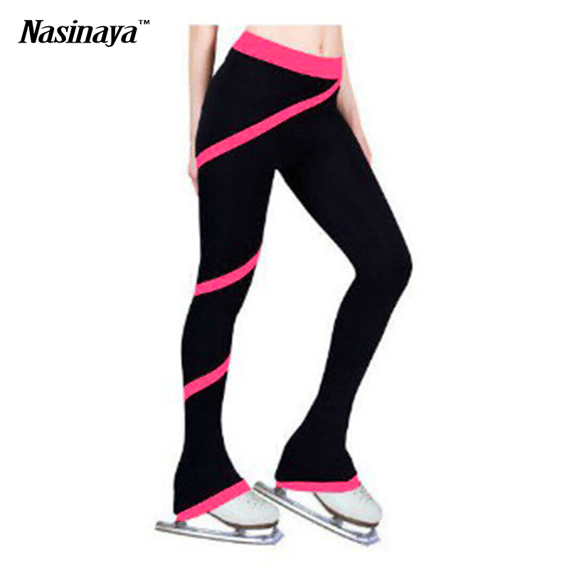 Customized Clothes Figure Skating Pants Rhythmic Gymnastics Trousers Fabric Adult Child Girl Clothing Performance Purple Pink<br><br>Aliexpress