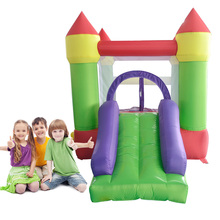 YARD 4.4x2x2.2m Bounce House Kids Birthday Party Jumping Castle Ball Pit Slide Inflatable Bouncers Special Offer for Africa