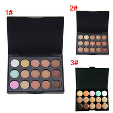 New Professional 15 Color Concealer Palette Make Up Cream Camouflage Foundation Cosmetic Palettes HJL2017