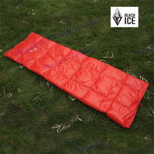 2014 Black Ice ultra-light multiple goose down quilt envelope type outdoor camping sleeping bag