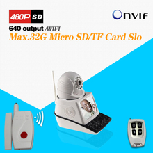 Wireless Video Call IP Camera Kit with Door Magnetic Door Alarm Super High Voice Quality Voip Phone(China)