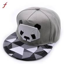 Women's Panda Cap Snapback Golf ball Hip-Hop Hat Style Classic Fashion Trend Men Women's cap Spring Summer Autumn Winter Hats(China)