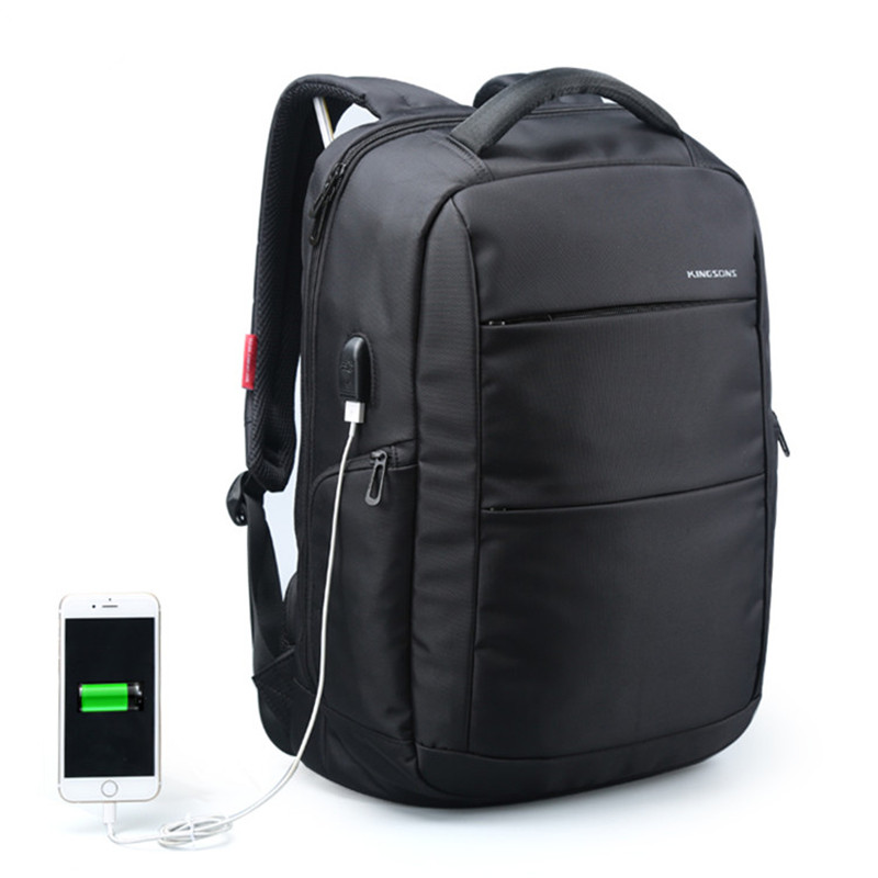 15.6 inch External USB Charging Function Laptop Backpack Anti-theft Man Business Dayback Women Travel Bag Notebook Computer Bag<br>