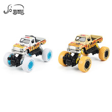Cool 1: 30 Scale Mini Alloy Metal Diecast Car Baby Toys Kids Pull Back Pick-up Car Model Vehicle Toy for Children Birthday Gift