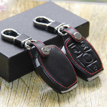 Leather Key Holder Case Rings Mercedes W124 W210 W211 Amg W204 C E S Cls Clk Cla Slk Ml Classe Keychain - Hiwin Store store