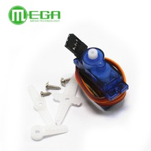 D503  10pcs /lot  Rc Mini Micro 9g 1.6KG Servo SG90 for RC 250 450 Helicopter Airplane Car Boat