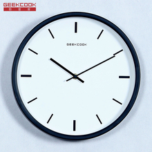Brand Simple Clock Watch Wall Clocks Diy Home Decoration Living Room Quartz Needle Modern Design Silent Round Metal Wall Clock