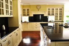 2016 Canadian kitchen cabinets solid wood & glass door