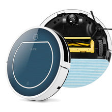 2017 Hot Sale Original 2 in 1 V7 intelligent Mop Robot Vacuum Cleaner for Home,Ciff Sensor Self Charge, household cleaning