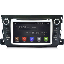 2G RAM Android 7.1 Car DVD Player for Mercedes Benz Smart Fortwo 2011 2012 2013 Car GPS radio stereo headunit tape recorder 4G