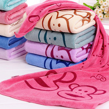 1pcs Microfiber Cartoon Towel Dry Baby Soft Absorbent Fast Drying Towel Small Towel Children Bath Beach Cleaning Towel 50*25cm