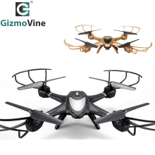 GizmoVine WiFi FPV Camera Drone Real Time Transmission RC Helicopter 2.4G 6-Axis Quadrocopte Headless Mode RTF Drone(China)