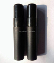 Black Spray Bottle 5ML, Mist Spray Bottle 5CC, Cosmetic Liquid or Perfume Packing Bottle, Plastic Bottle 5CC. 100PCS/Lot