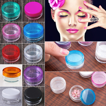 NEW TOP perfume Cream Sample packaging Jars for cosmeticss Container 10 Colors 5g Round packaging cosmetics Jars 10X