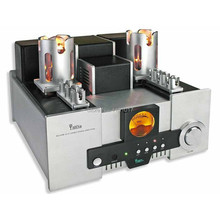 YAQIN TOP MS-650B 845 tube amplifier Silver 120v HIFI EXQUIS signle-ended Class A lamp amp 12AT7 12AU7(China)