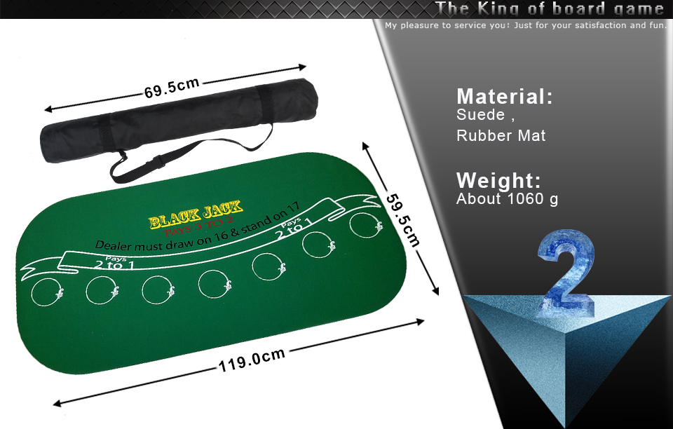 K8356 12060cm Texas Suede Rubber Blackjack Rubber Table Cloth For Poker Table Mat Tablecloth Waterproof Poker Table Game Mat (8)