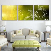 3 Pcs/Set Abstract Canvas Wall Art Picture Abstract Floral Pattern Modern Abstract Wall Paintings with Frame Home Decoration