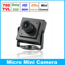 High Resolution HD Mini Digital CCTV Camcorder Sony 960H CCD Effio 700TVL Security Small CCTV Camera Micro Video Surveillance(China)