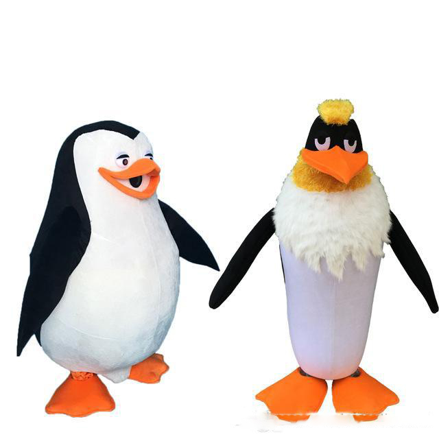 Factory direct sale Penguin Mascot Costume Fancy party dress theme mascotte carnival costume Christmas GiftOutfits