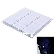 Wholesale 12 Pcs/set Magic Trick Toy White Finger Snow Storm Paper Snowflakes Magic Tricks Props Toys