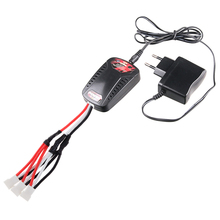 EU Plug 7.4v 3 in 1 X8C X8W X8G Converting Cables with Battery Charger for SYMA 2.4G X8C X8G X8W RC Quadcopter Spare Part(China)