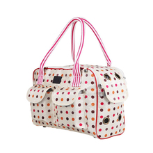 Outdoor dots Portable Pet Dog Cat Travel Carrier Carry Bag Tote Luggage Bag Breathable Pet Dog Puppy Handbag Outdoor Bag