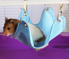 1Pc Rabbit Hamster Totoro Ferret Guinea Pig Chinchilla Cage Hammock Small Pet Puppy Bed Cover Bag Blankets Mesh Bed