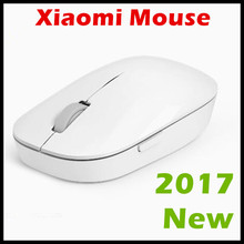 2017 New Original Xiaomi Mouse WSB01TM Portable Wireless Optical 2.4GHz Mi Mouse One Key Backwards 1200dpi Precise Positioning