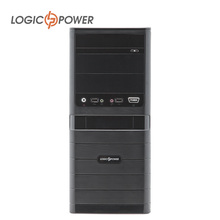 LOGICPOWER desktop Office and home preferred computer case New Arrivals 80mm FAN,CD-ROMx2,HDDx1,PCIx7,USBx2, AUDIO In/Out #3915