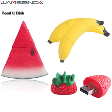 Creative Food USB Flash Drive Banana & watermelon & Strawberry Pen Drive 4gb 8gb 16gb 32gb 64gb Pendrive MicroData USB Stick(China)