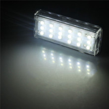 1 Pair Error Free LED SMD License Plate Light For Toyota/Land/Cruiser/Lexus/GX LX470(China)
