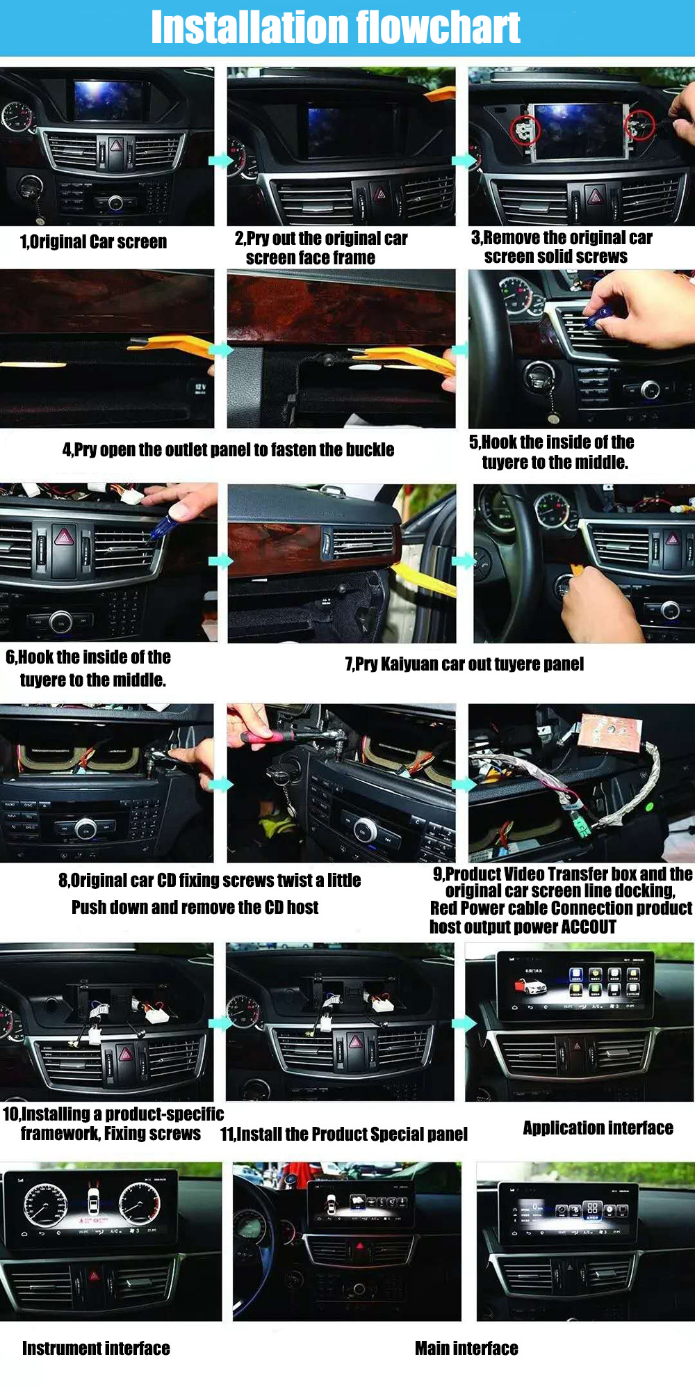 Liandlee Car Multimedia Player NAVI For Mercedes Benz MB E Class C207 C238 2013~2017 Car Radio Stereo GPS Navigation