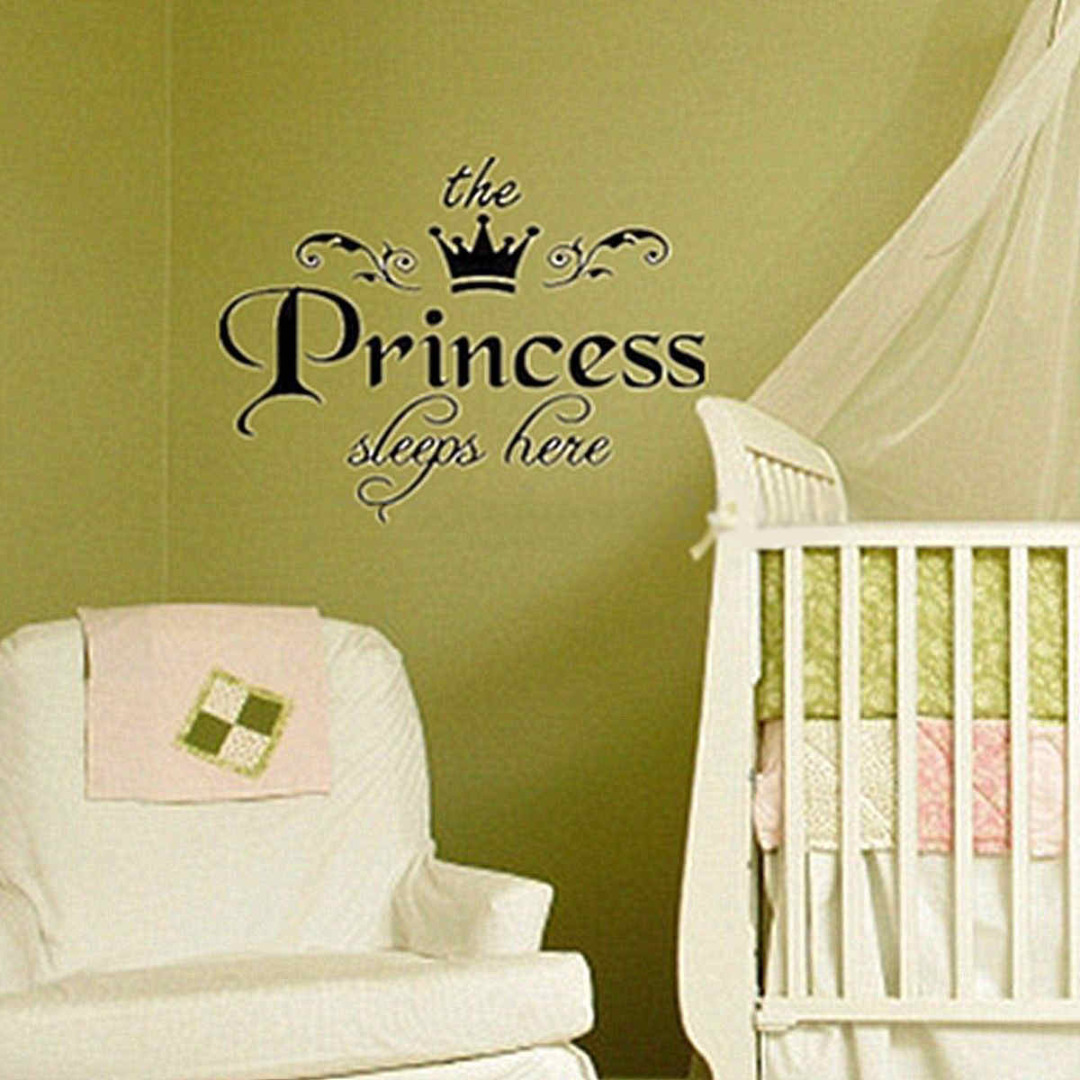 Mayitr New Removable Princess Wall Stickers Decoration Art Vinyl ...