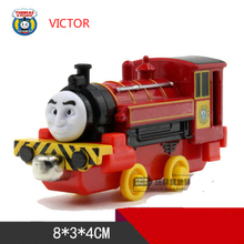 VICTOR One Piece Diecast Metal Train Toy Thomas and Friends Megnetic Train The Tank Engine Toys For Children Kids Gifts