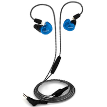 Genuine Moxpad X6 In-ear sport Earphones with Mic for iPhone Samsung,Mobile Cell Phones,Replacement Cable+Noise Isolating Headse