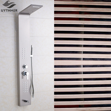 Uythner Luxury ORB Rainfall Shower Panel With Body Massage Jets System Multifunction Shower Panel Shower Faucet set