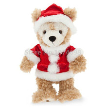 New Christmas Duffy Holiday Plush Toy Doll 29cm Cute Teddy Bear Stuffed Animals Soft Kids Toys Dolls for Children Gifts