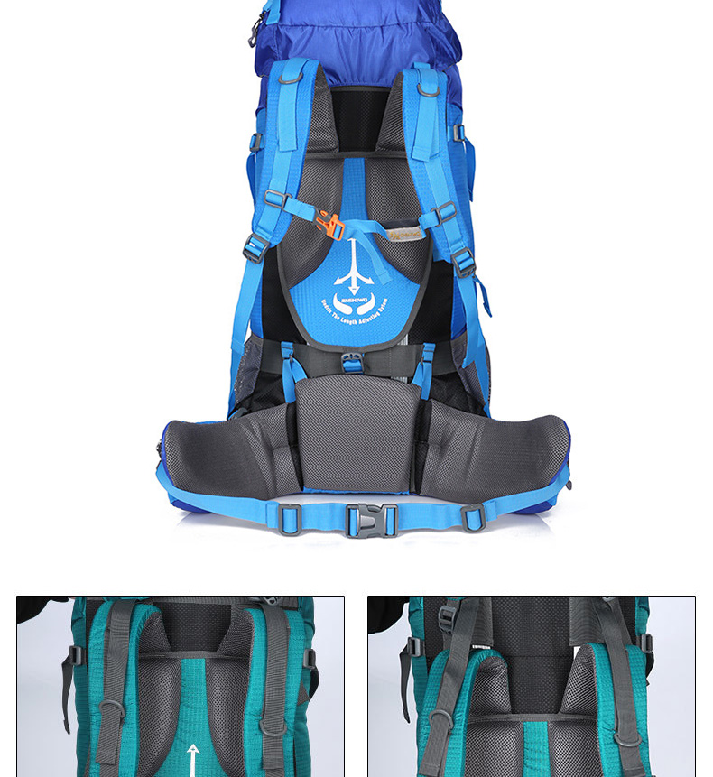 Large 80L Waterproof Travel Backpack Camp Hike Mochilas Masculina Laptop Daypack Trekking Climb Back Bags For Men Women 2017