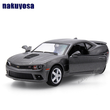 Brand 1/35 Chevrolet Camaro Hornet Diecast Metal Pull Back Car Model Toy For Collection/Gift/Kids/Decoration