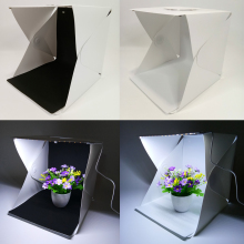 30*30*30cm Mini Portable Folding lightbox Photography Photo Studio Softbox Lighting Kit Light box for iPhone Samsang  Camera