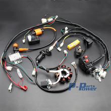 Complete Electrics ATV QUAD 150cc 200cc 250cc 300cc 3 Holes Stator CDI Coil Wire Harness Zongshen Lifan NEW
