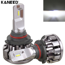 KANEED HB4 9006 Canbus LED Headlight Bulb 2 PCS 30W 2200 LM 6000K IP67 Car Headlight with For Philip 6 SMD LED Lamps, DC 12-24V(China)