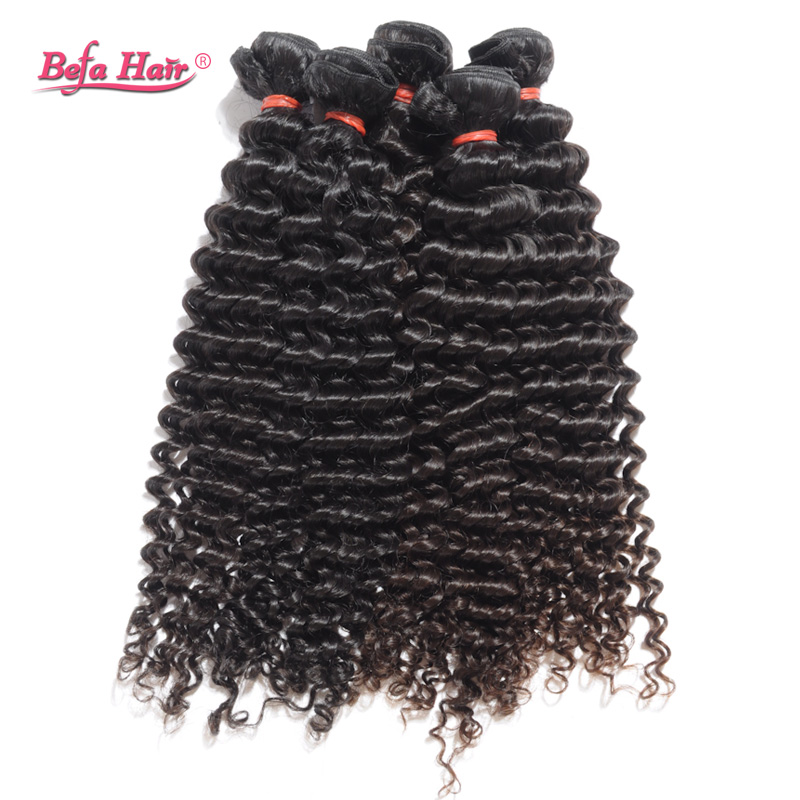 Hot Sale Brazilian Deep Curly Virgin Hair 1Pcs/Lot Grade 7A Curly Brazilian Hair Extensions Human Hair Weave Fast Shipping<br><br>Aliexpress